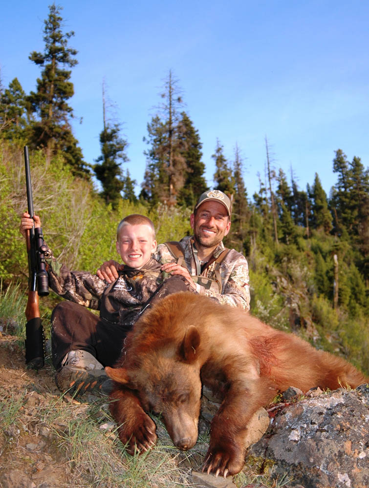 Bears And Boys In The Backcountry Cameron Hanes