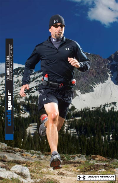 Cold Gear Under Armour Ad