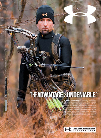 The Advantage Is Undeniable Cold Gear Under Armour Ad