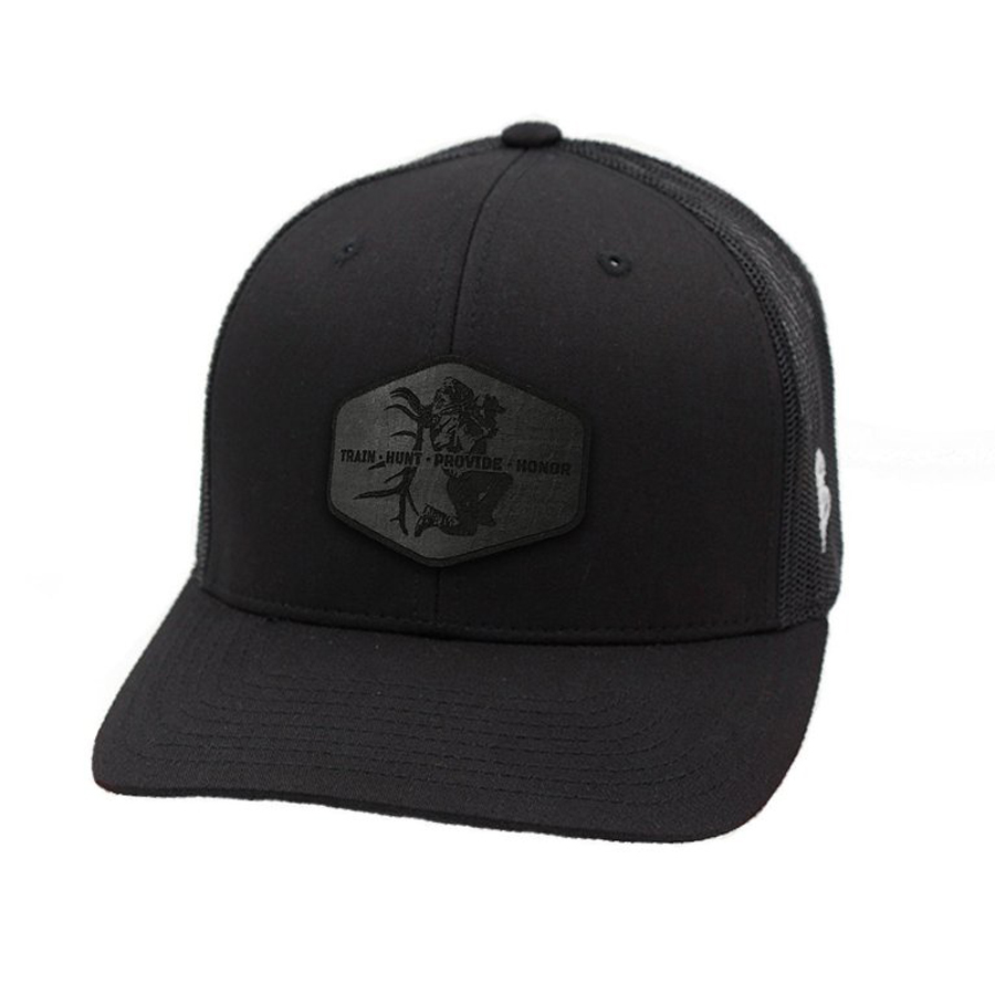 e75d47505e8 Midnight Train Hunt Provide Honor Curved Trucker Hat - Cameron Hanes
